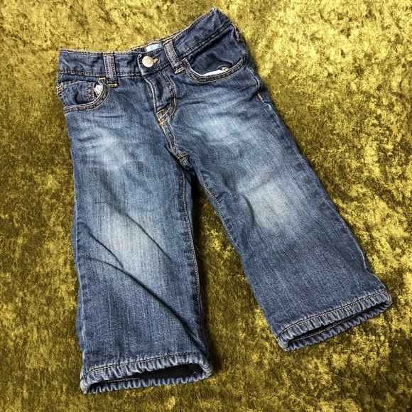 GAP Other - LAST CHANCE💞Baby GAP fleece lined blue jeans